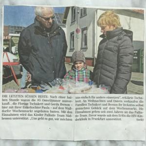 Zeitungsartikel Osterlämmer