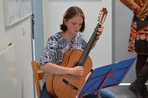 Wohltuende Klänge von Frau Grünberg