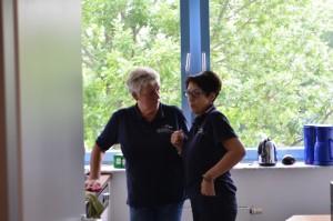 Die Damen des Hilfevereins Wir helfen helfen- Usinger Land. Dieses Mal waren Sie für uns ins der Küche aktiv- dafür waren wir sehr dankbar!