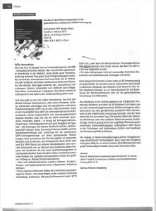 Bildschirmfoto Artikel Buch QM